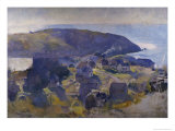 Monhegan Giclee Print by Alice Kent Stoddard