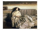 Repose Giclee Print by John Singer Sargent