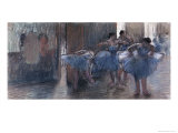 Dancers Giclee Print by Edgar Degas