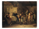 The Recital Giclee Print by Friedrich Ortlieb