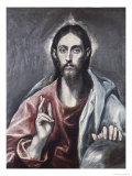 Savior of the World Giclee Print by  El Greco