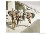 Rural Guard, Mexico Giclee Print by Frederic Sackrider Remington