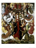 Mary Queen of Heaven, the St. Lucy Legend Giclee Print by  Master of the St. Lucy legend