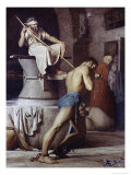 Samson on the Treadmill, c.1863 Giclee Print by Carl Bloch