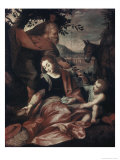 Flight Into Egypt Giclee Print by Federico Barocci