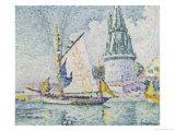 La Tour de Quatre Sergents, La Rochelle Giclee Print by Paul Signac