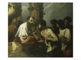 Parable of the Laborers in the Vineyards Giclee Print by Francesco Maffei