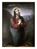 Christ Praying in Gethsemane Giclee Print by Christian Schleisner