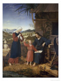 Christ in the Carpenter Shop Giclee Print by John Von Leonardshof