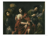 Jesus Insulted by the Soldiers Giclee Print by Jean Valentin De Boulogn