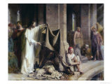 The Pool of Bethesda Giclee Print by Carl Bloch