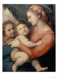 Madonna in the Tent Reproduction procédé giclée par Raphael