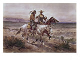 Questionable Companions Giclee Print by Heinrich Hansen