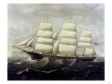 The American Clippership Reproduction proc&#233;d&#233; gicl&#233;e par J.s. Alaster