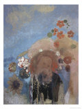 Evocation of Roussel Giclee Print by Odilon Redon