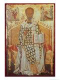 Saint Nicolas Giclee Print by Michael Damaskenos