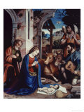 The Holy Family Giclee Print by Andrea Sacchi