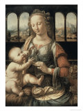 Madonna of the Carnation Giclee Print by  Leonardo da Vinci