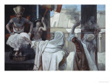 The Plague of Boils and Blains Giclee Print by James Tissot