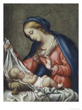 Madonna and Child Giclee Print by Carlo Maratti