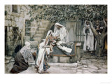 Raising of Jairus&#39;s Daughter Giclee Print by James Tissot