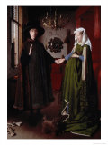 The Arnolfini Portrait Premium Giclee Print by  Jan van Eyck