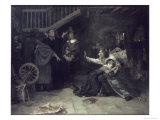 Accused of Witchcraft Giclée-Druck von Douglas Volk