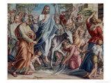 Entry Into Jerusalem Giclee Print by Julius Schnorr von Carolsfeld