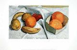 Stillleben Orangen, Bananen, Zitronen, Tomaten Affischer av Paula Modersohn-Becker