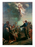 The Ascension Reproduction procédé giclée par Adriaan van der Werff