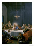 The Last Supper Giclee Print by Hendrick Krock