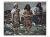 Shem, Ham and Japbeth Giclee Print by James Tissot