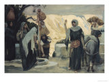 The Women at the Well Giclee Print by James Tissot