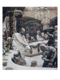 The Marriage of Cana of Galilee Giclee Print by James Tissot