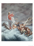 Christ Stilling the Tempest Giclee Print by Christian W.e. Dietrich