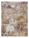 The Virgin with Animals Giclee Print by Albrecht Dürer