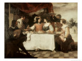 The Banquet of the Prodigal Son Giclee Print by Bartolome Esteban Murillo