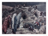 The Holy Women Look on from Afar Giclee Print by James Tissot