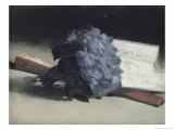 The Bunch of Violets Giclee Print by Édouard Manet