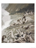 The Deluge Giclee Print by James Tissot