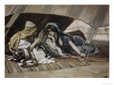 Abraham's Counsel to Sarah Premium Giclee Print by James Tissot