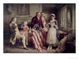 Betsy Ross Giclee Print by Jean Leon Gerome Ferris