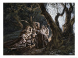 The Angels and the Shepherds Giclee Print by James Tissot