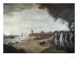 Washington at Yorktown After Surrender, c.1781 Giclee Print by James Peale