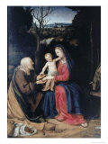Flight Into Egypt Giclee Print by  Andrea del Sarto
