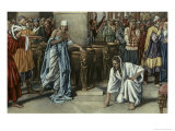 Jesus and the Adulteress Giclee Print by Fortunino Matania