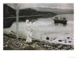 Christ Appears on the Borders of the Tiberius Sea Giclee Print by James Tissot