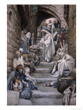All the City Was Gathered Together Giclee Print by James Tissot
