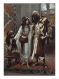 The Harlot of Jericho and the Two Spies Giclee Print by James Tissot