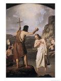 Baptism of Jesus Giclee Print by Johan Peter Raadsig